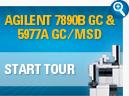AGILENT 7890B GC & 5977A GC/MSD