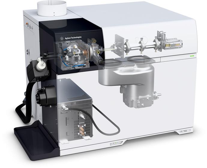 New Agilent 7900 ICP-MS.