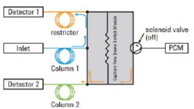 GC-ECD への直接注入による魚油中の PCB 分析