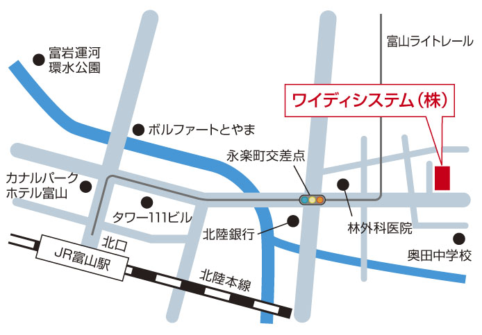 富山会場地図