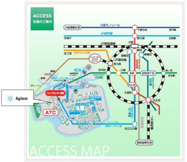 大阪会場地図