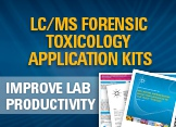 LC/MS FORENSIC TOXICOLOGY APPLICATION KITS
