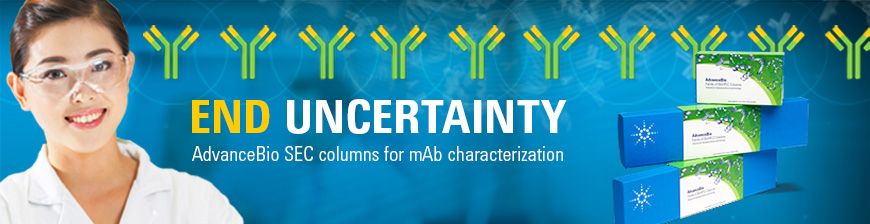 AdvanceBio SEC columns for mAb characterization